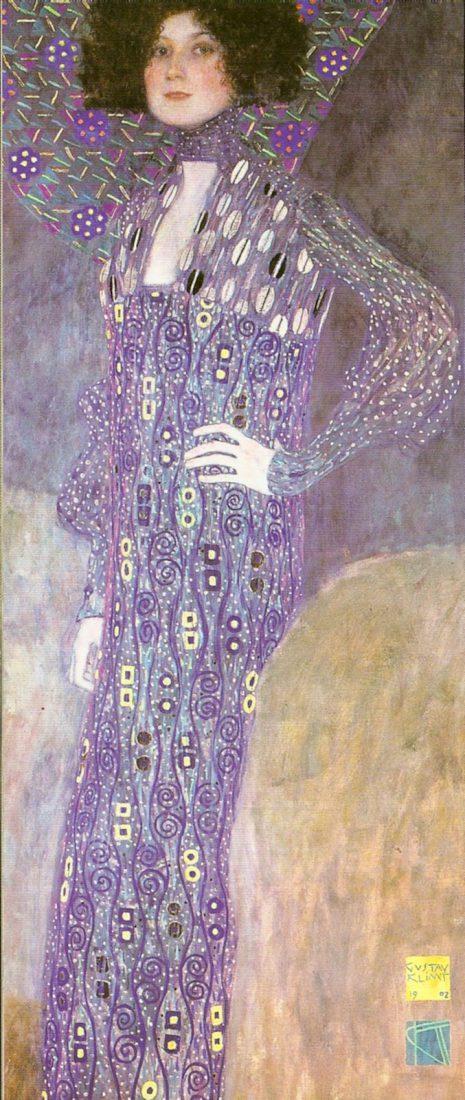 Retrato de Emilie Flöge, 1902